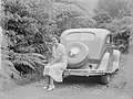 Portrait of a woman seated on an automobile (AM 80583-1).jpg