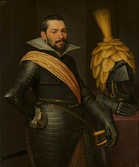 Portrait of an officer, possibly Gaspard de Coligny (1584-1646)