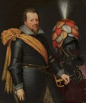 Portrait of an Officer by Jan van Ravesteyn and workshop Nationaal Militair Museum MH425.jpg