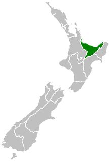 Position of Bay of Plenty