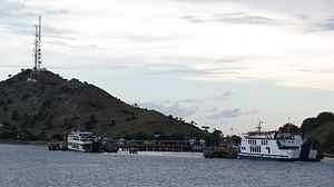 Sumbawa - Harbour of Poto Tano