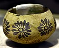 Pottery bowl from Telul eth-Thalathat, Iraq. Ubaid period, c. 5000 BCE. Iraq Museum.jpg