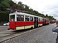 Průvod tramvají 2015, 09b - tramvaj 357 a 1314.jpg