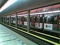 Praha, Prosek, stanice metra, reklamní vlak (T).jpg