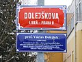 Praha Liben Dolejskova cedule.jpg