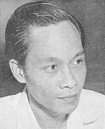 Pramoedya Ananta Toer, Indonesia's most famous novelist. Many considered him to be Southeast Asia's leading candidate for a Nobel Prize in Literature. Pramudya Ananta Tur Kesusastraan Modern Indonesia p226.jpg
