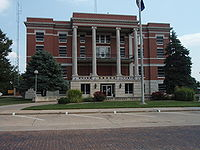 Pratt county kansas courthouse 2009