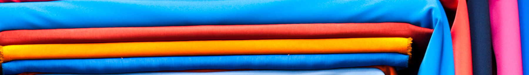 Colourful cloth at the Pratunam Market