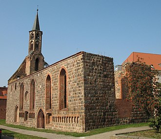 Prenzlau - Image: Prenzlau Heiliggeistkirche