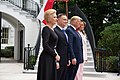 President Trump and the First Lady Visit with the President of Poland and Mrs. Duda (48055423561).jpg