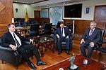Presidente Eleito, Jair Bolsonaro visita Ministro da Defesa (31881850438).jpg