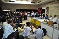 Press Conference - Sunita Lyn Williams - Science City - Kolkata 2013-04-02 7593.JPG