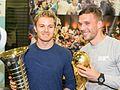 Pressetermin Lukas Podolski und Nico Rosberg, Airport Köln-Bonn-6944.jpg