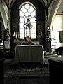 Primelin (29) Chapelle Saint-Tugen Maître-autel.JPG