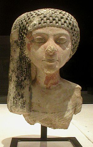 Amarna art - Princess of the Akhenaten family, Louvre