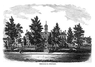 Princeton Theological Seminary - Princeton Seminary in the 1800s