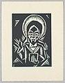 "Print, Christos Zehajici, Christ, Plate III, ""Ethiopie, cili Christos, Madonna a Svati, jak jsem ie videl v illuminacich starych ethiopskych kodexu"" Portfolio, 1920 (CH 18684913-2).jpg"