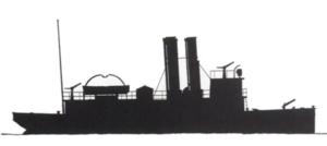 George B. McClellan (fireboat) - Image: Profile of the FDNY George B. Mc Clellan