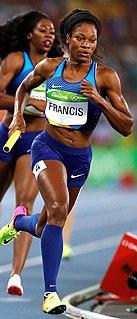 Phyllis Francis American sprinter