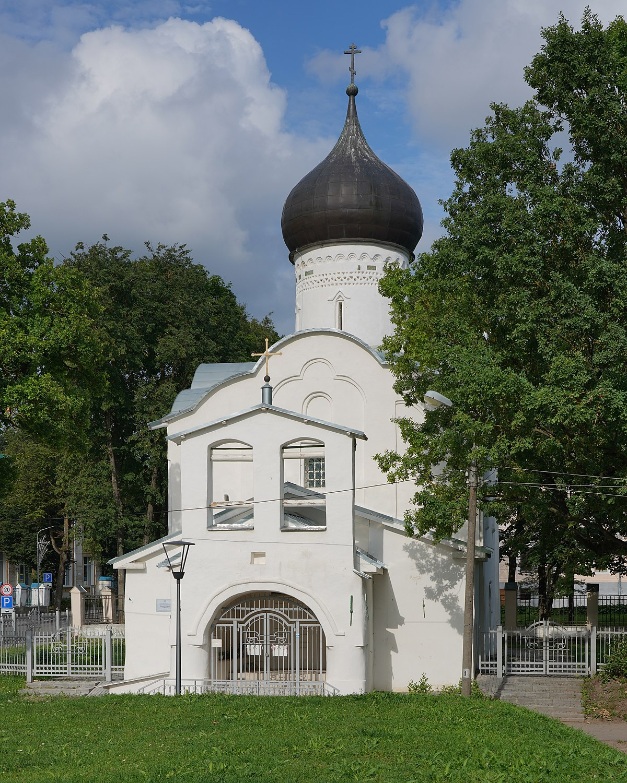 Church Of Saint George So Vzvoza Pskov Wikidata