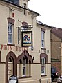 Pub sign of The Dolphin Hotel, 177 Rodbourne Road, Rodbourne - geograph.org.uk - 1081780.jpg