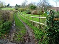 Public Footpath to Myrtle Farm - geograph.org.uk - 1616921.jpg