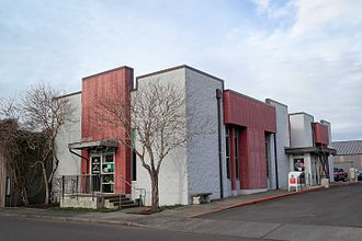 Banks Public Library - Image: Public Library (Banks, Oregon) 2