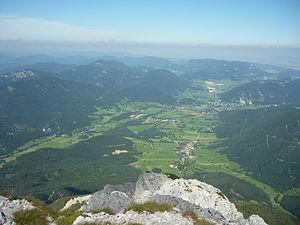 Puchberg am Schneeberg - Image: Puchberg vom Schneeberg 16