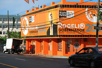 Puerto Ricans for Puerto Rico Party - Party headquarters in 2012