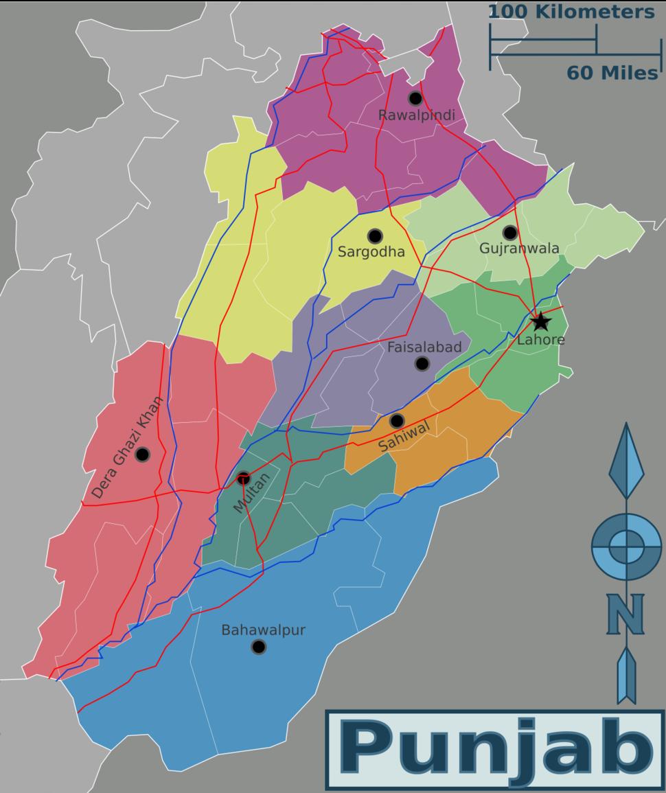 Punjab (Pakistan) Divisions