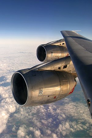 Rolls-Royce RB211 - RB211-524 on a Qantas Boeing 747-300