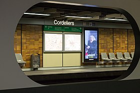Image illustrative de l'article Cordeliers (métro de Lyon)