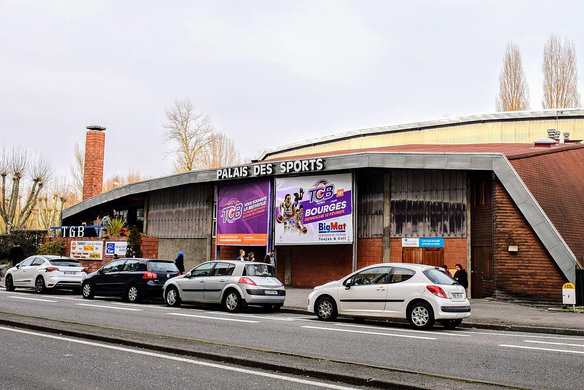 Palais des sports du quai de l 39 adour wikip dia for Piscine du palais des sports a nanterre nanterre