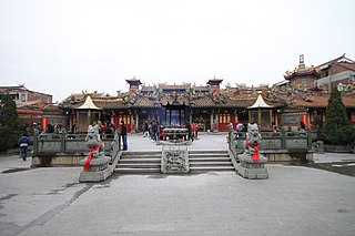 Chinese temple architecture temples used for the practice of Chinese folk religion