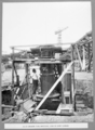 Queensland State Archives 3699 South anchor pier material lock on east caisson Brisbane 1 September 1936.png