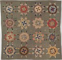 Quilt, Star of Bethlehem pattern variation MET DP244125.jpg