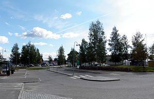 Råholt - View of the village from Eidsvoll Verk Station