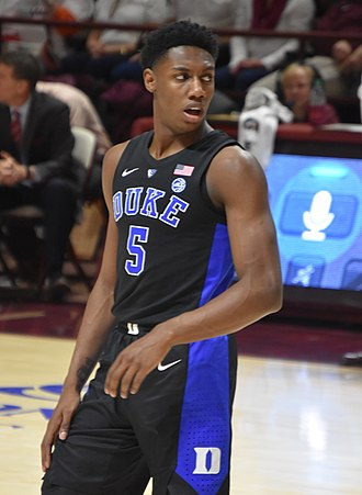 R. J. Barrett - Barrett with Duke in February 2019