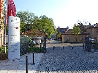 Rundfunk Berlin-Brandenburg - The studio in Potsdam