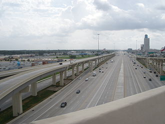 Interstate 10 in Texas - Image: RF Houston Texas IH10.1