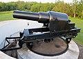 RML 10-inch, 18-ton Gun No. 75, Mk III, York Redoubt, Halifax, Nova Scotia.JPG