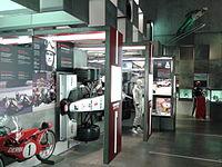 Racó dels esports de motor del Museu OIímpic i de l'Esport.jpg