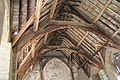 Rafters in Stokesay Castle Great Hall.jpg