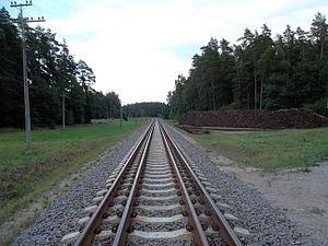 MRL East Coast Rail Link - Image: Rail Baltica Lietuva
