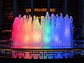 Rainbow fountain at Lincoln Center during pride (93370).jpg