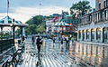 Rainy Boardwalk at the Château Frontenac (14580695159).jpg