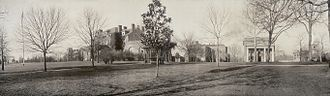 North Carolina State University - Panoramic photo of campus taken around 1909