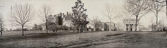North Carolina State University - Panoramic photo of campus taken around 1909