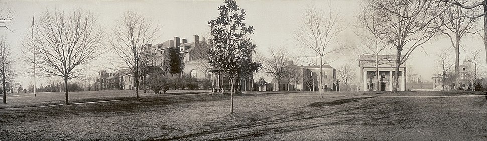 Raleigh AM College 1909 View LOC