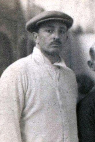 Raoul Le Mat - Le Mat at the 1920 Olympics